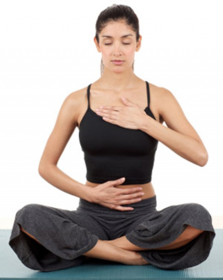 Фото правильное дыхание в йоге