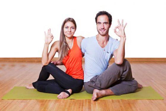 Йога фото для детей