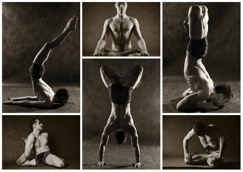 Некоторые асаны (позы) силовой йоги