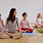 Групповая йога для детей