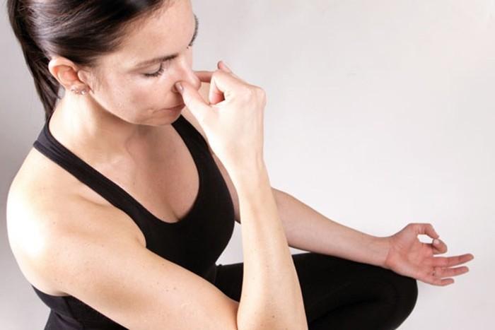 Дыхательная техника пранаяма