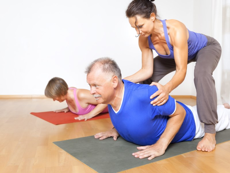 Зал йоги и фитнеса
