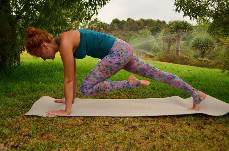 Как йога сжигает жир