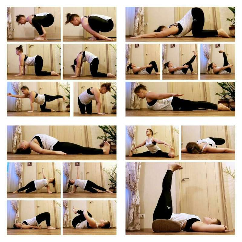 позы йога при миоме матки