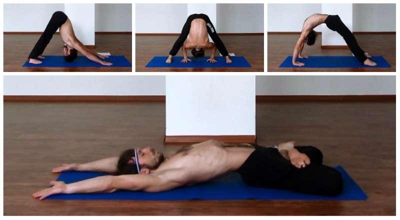 Позы йоги при простатите