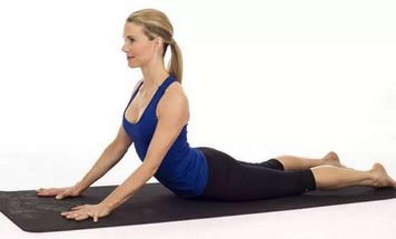 Блок в грудном отделе йога