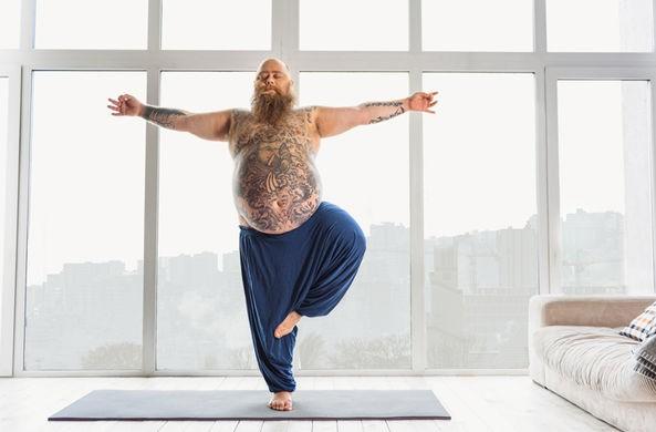 Избыточный вес и йога