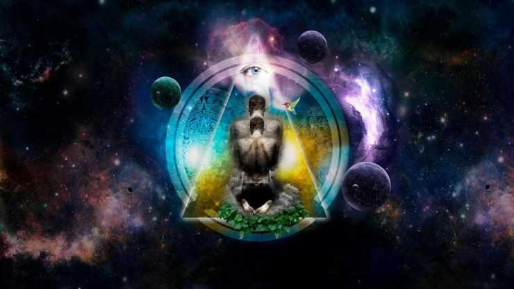 Воздействие космоса на чакры человека