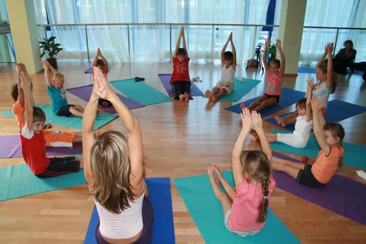 Детская фитнес-йога