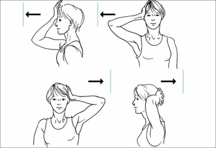 Упражнения для расслабления мышц шеи