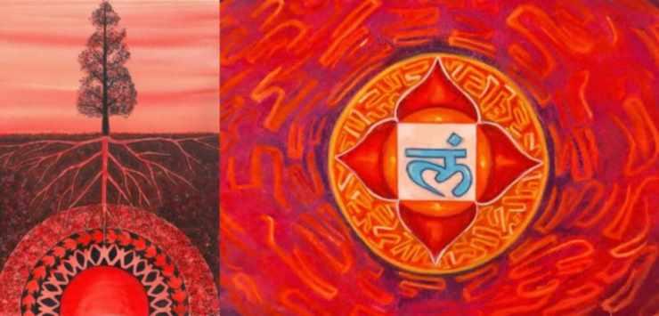 Чакра муладхара - корневая чакра