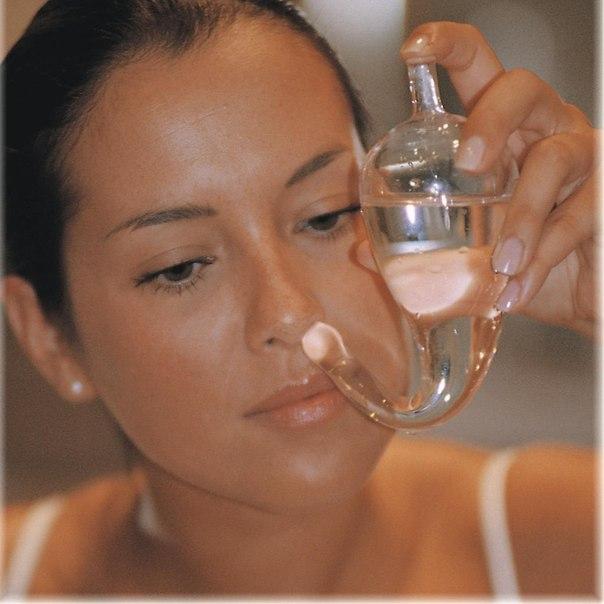 Техника промвания соляной водой