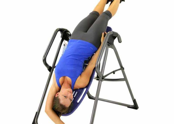 Тренажер - инверсионный стол для растяжки