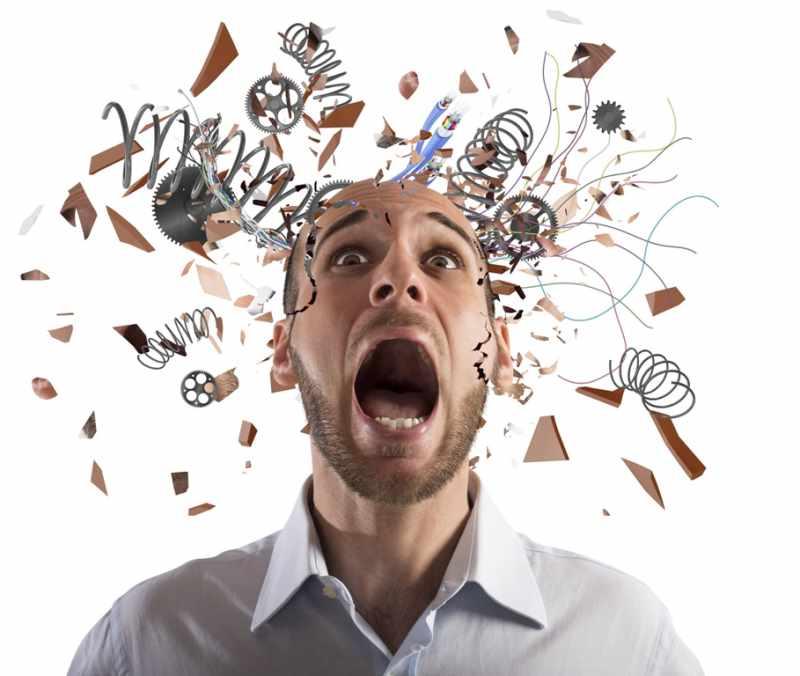 Стресс разрушителен для процессов мышления