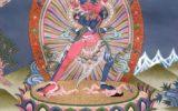 Фото изображение тантрического божества Калачакры