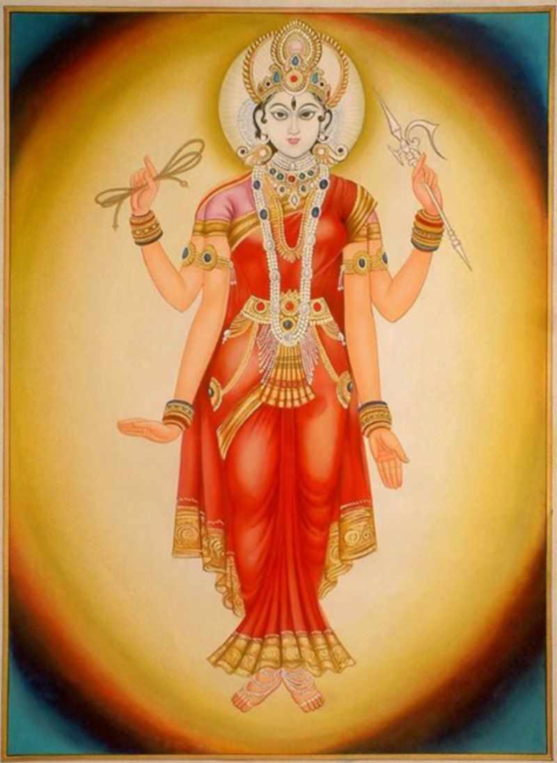 Богиня Шакти - вселенская энергия