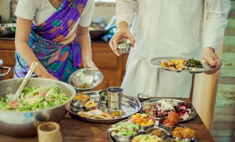 Бхакти и прием пищи