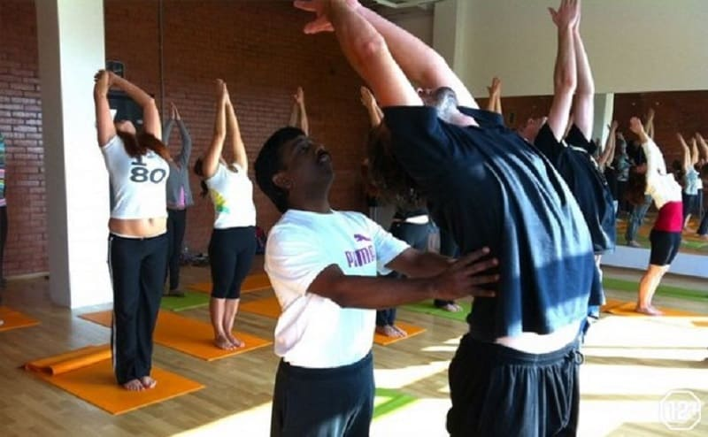 Пример упражнения интегральной йоги