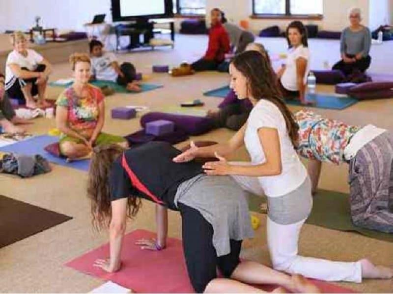 Коллективное выполнение упражнений интегральной йоги