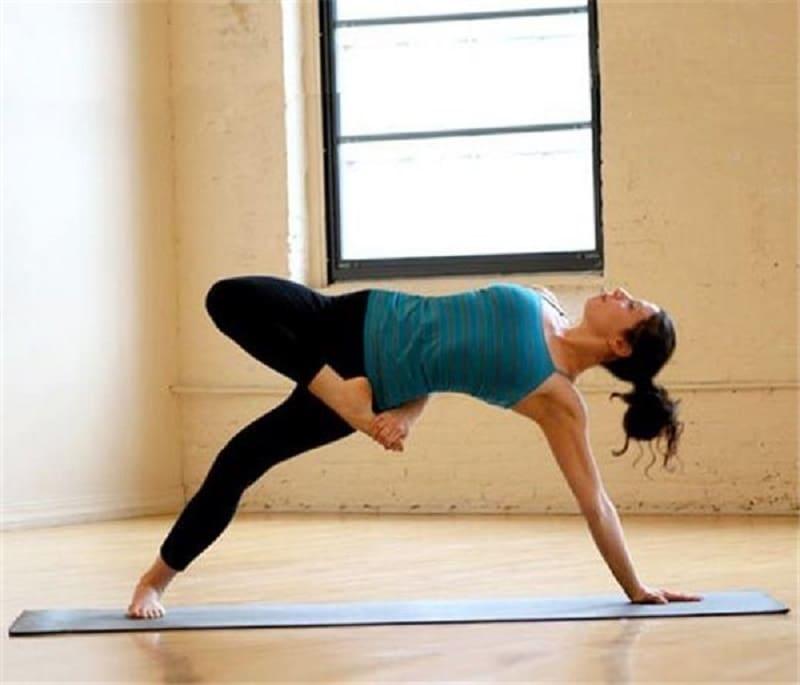 Стойка для йоги в домашних условиях