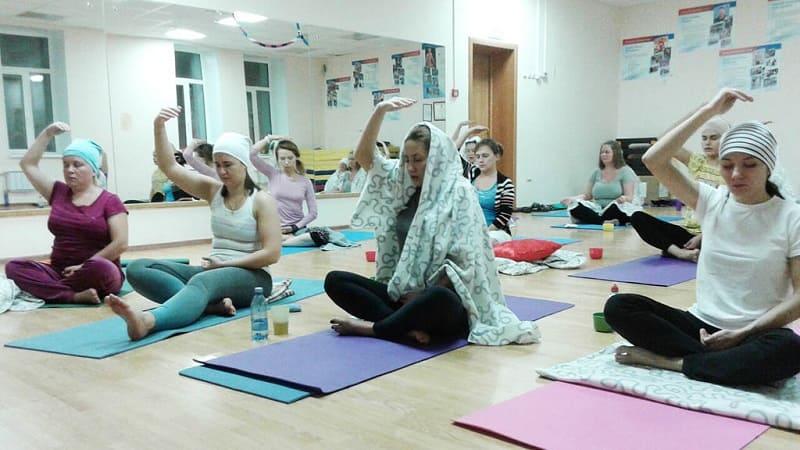 Занятие Кундалини-йога