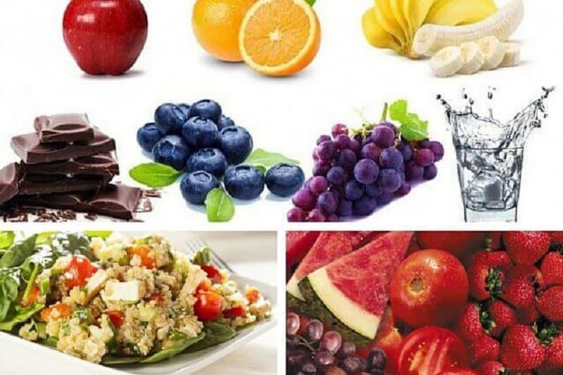 Здоровая пища помогает раскрытию анахаты