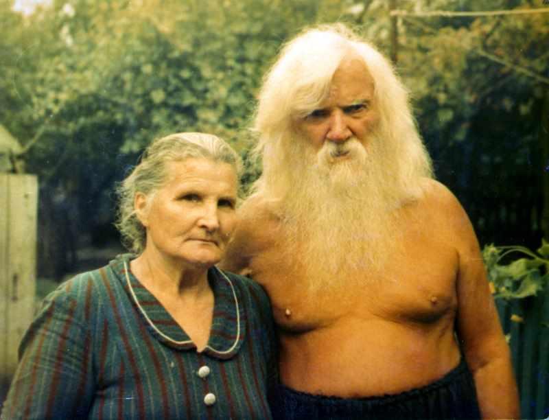 Порфирий Иванов и его жена