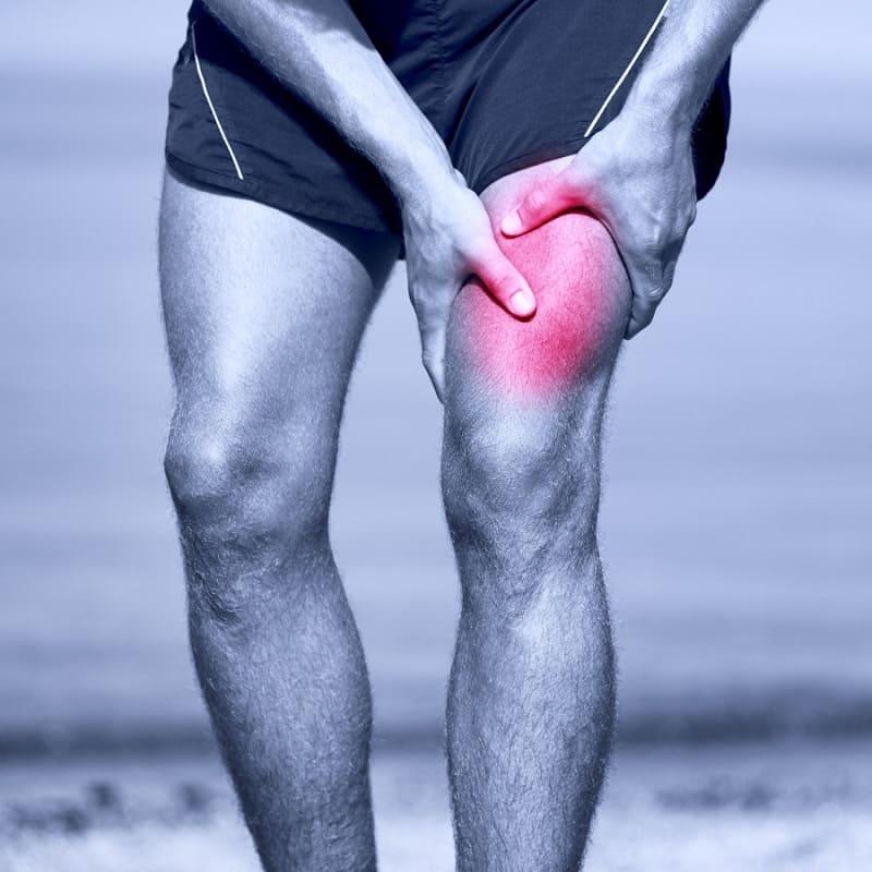 Травмирование мышц передней поверхности бедра