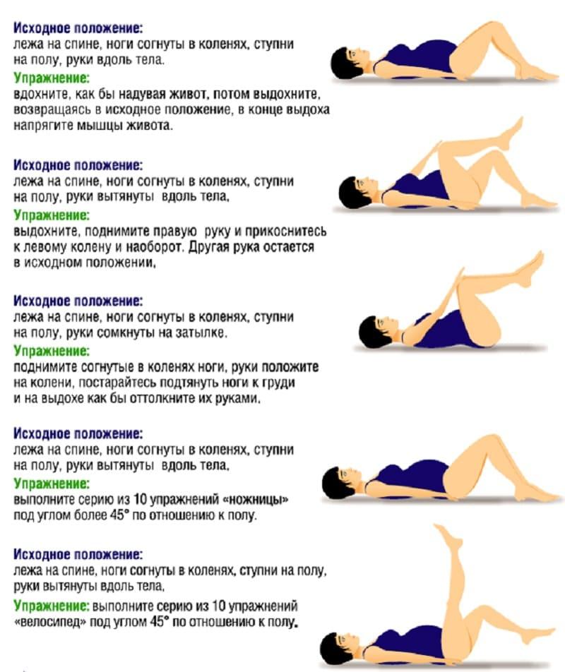 Упражнения для 3 триместра беременности