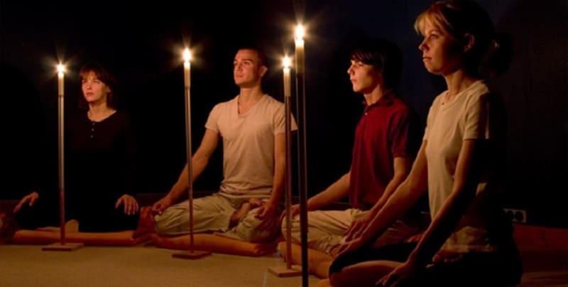 тратака - медитация не отрывая глаз от свечи