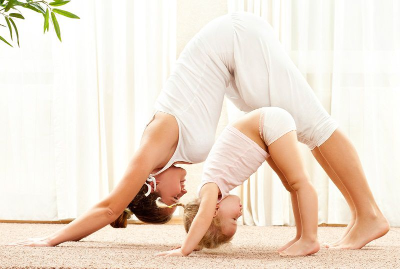 парная детская йога