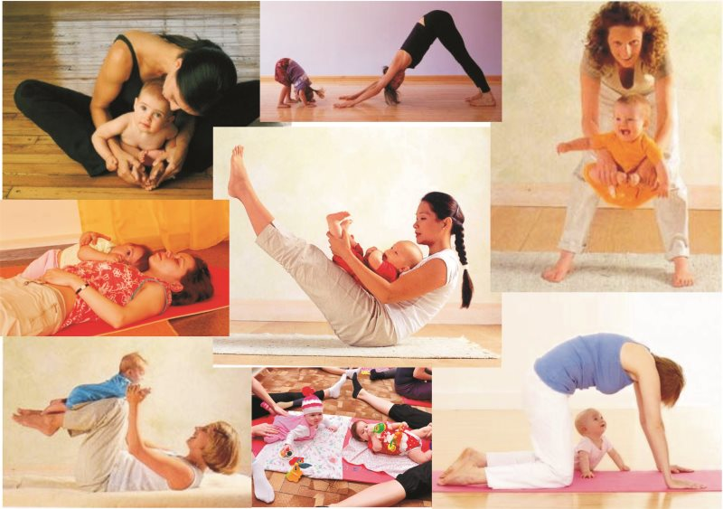 Позы беби йоги