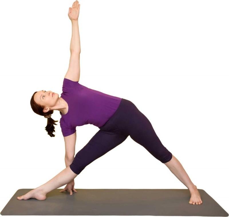 Йога при грудном остеохондрозе