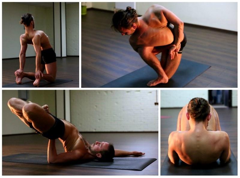 Позы йоги при шейном остеохондрозе