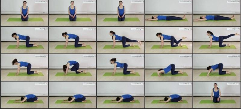 Позы йоги при сколиозе