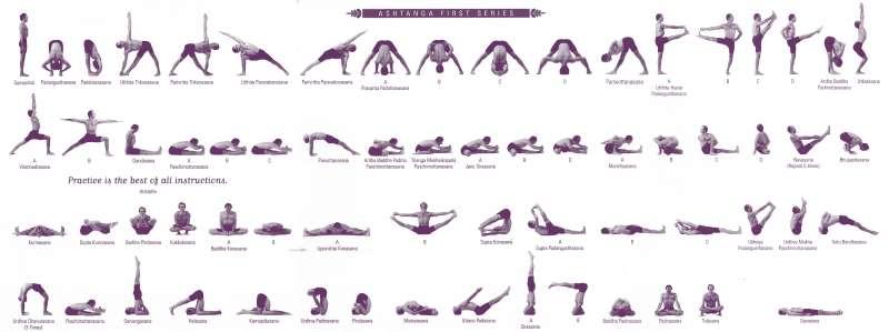 Позы йоги для начинающих в домашних условиях