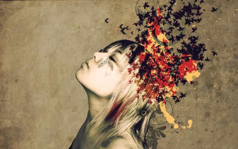 Фото процесса освобождения от эмоций и мыслей