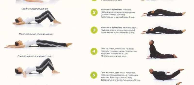 Гимнастические упражнения для позвоночника