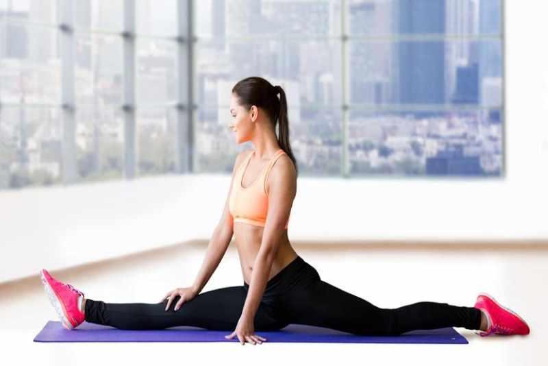 Продольный шпагат - растяжка и эластичность мышц