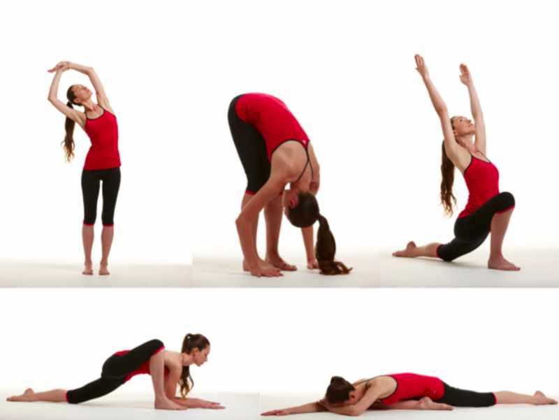 Стретчинг для начинающих на все группы мышц