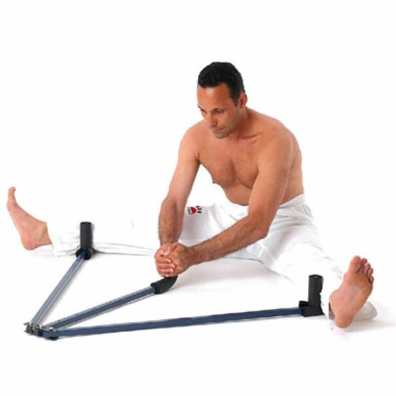 Один из вариантов тренажеров для растяжки ног