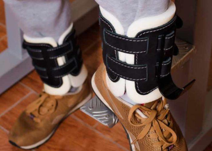 Инверсионные ботинки для растяжки на шпагат