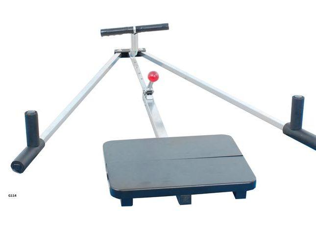Тренажер для вытяжения связок ног
