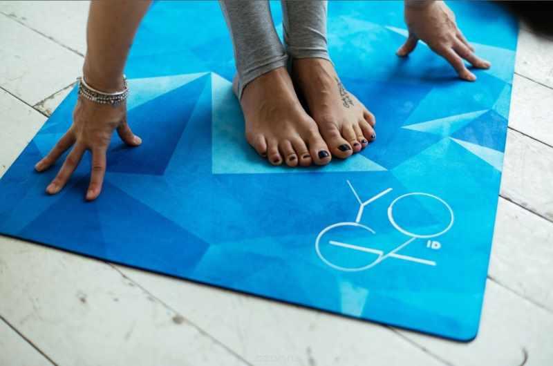 Коврик для практики йоги