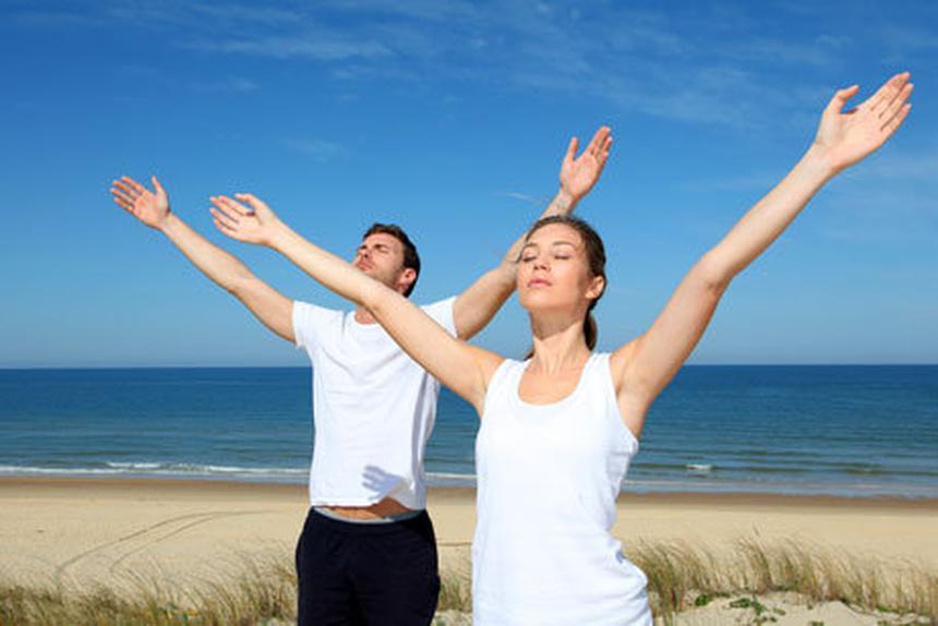 Дыхательная гимнастика поможет настроиться на пранаяму