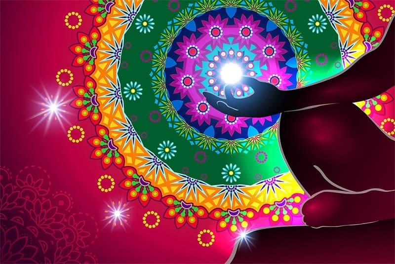 Медитация на красный цвет