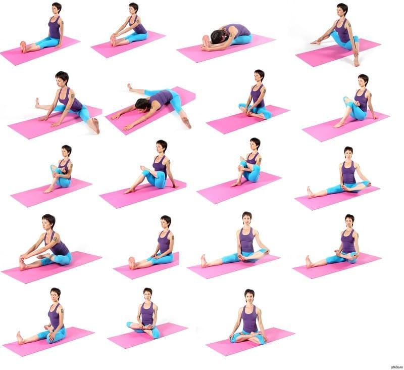 Ключевые упражнения утренней растяжки