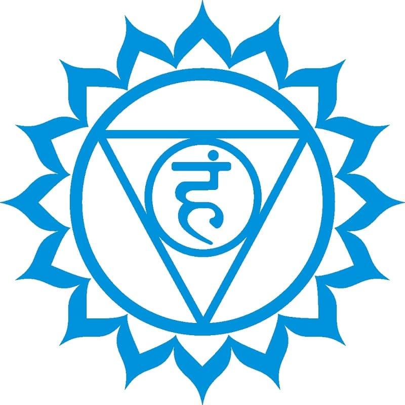 Символ пятой женской чакры вишухда